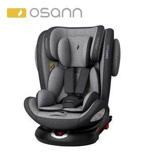 Kindersitz Swift Klasse 1/2/3, für Kinder von 9 - 36 kg, einklappbare Isofix-Verbinder