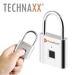 Elektronisches Vorhängeschloss TG-131 • einfache Einrichtung und Aufladung per USB • Bügelstärke: Ø 5 mm