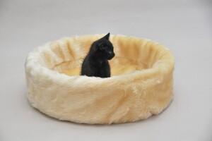 Cat Bonbon Ruhe- und Schlafinsel beige