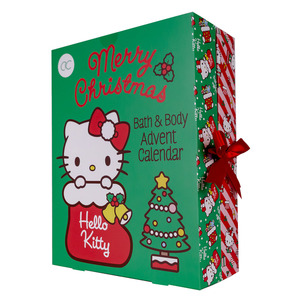 Adventskalender HELLO KITTY in buchförmiger Box