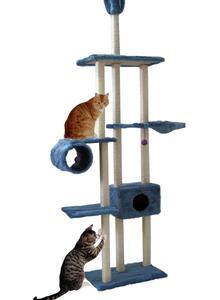 Cat Dream Katzen Klettertraum Family blau