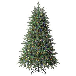Evergreen Weihnachtsbaum Sherwood Fichte mit Lichterkette 150cm