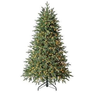 Evergreen Weihnachtsbaum Sherwood Fichte mit Lichterkette 180cm