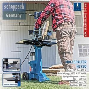 Scheppach HL730 | 7 T Holzspalter 400 V