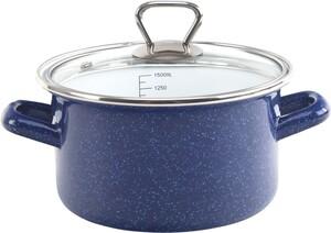 "Casa Royale Fleischtopf ""Sparkle"", Ø 16 cm - Blau"