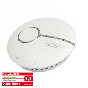 Fontastic Smart Home WiFi Rauchmelder nach DIN EN14604