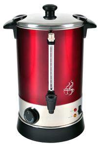 KALORIK Glühweinautomat TKG GW 900 Metallic-Rot Heißgetränkeautomat für Glühwein, Kaffee, Tee 6,8 Li