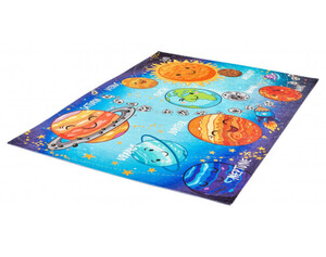 Teppich Fun Kids ca. 80 x 120 cm Planeten