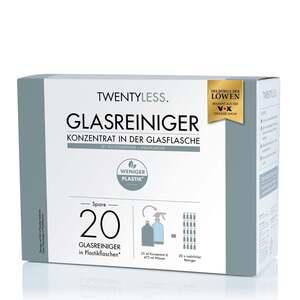 TWENTYLESS. Reinigungs-Set Glas 2-tlg. 500 ml Konzentrat inkl. Sprühflasche