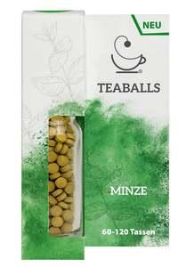TEABALLS Nachfüllflasche Minze