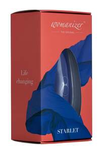 Womanizer Starlet 2 Sapphire Blue Auflegevibrator