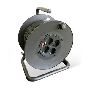 Kabeltrommel H05VV-F 3G 1,5 mm² schwarz 40 m