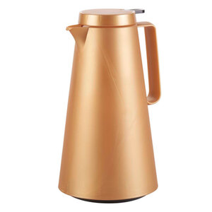 Casalino Isolierkanne 1 Liter in Goldoptik