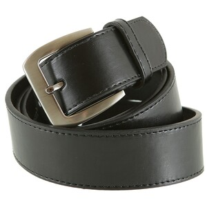 Ledergürtel Herren 115-135 cm in schwarz 3,7 cm Breite