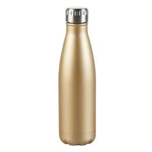 Casalino Trinkflasche Edelstahl 500 ml in Goldoptik