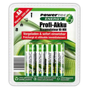 Powertec Energy Profi-Akku Mignon / Micro