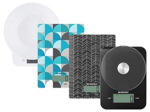 SILVERCREST® Küchenwaage, Belastbarkeit bis 5 kg, mit LC-Display, Abschaltautomatik