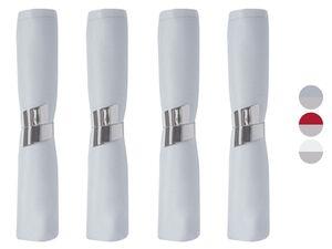 MERADISO® Servietten-Set, 8-teilig, mit Serviettenhalter