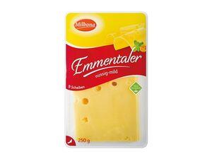 Emmentaler, in Scheiben