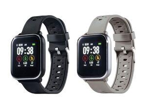 SILVERCREST® Smartwatch Fitness, mit Multi-Sport-Modi, optischer Sensor, 2 Stunden Ladezeit