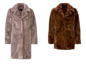 ESMARA® Mantel Damen, mit breitem Reverskragen