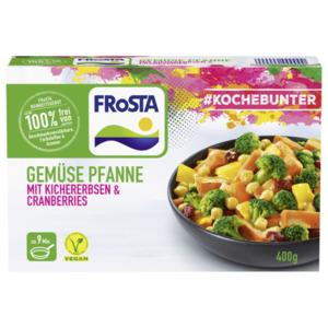 Frosta Gemüse Pfannne mit Kichererbsen & Cranberries 400g