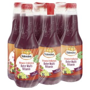 Valensina Vitamin-Frühstück Roter Multivitamin 6x1l