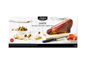 Jamón – spanischer luftgetrockneter Rohschinken
