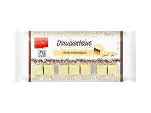 Dominosteine weiße Schokolade