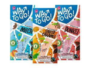 """Way to go""-Schokolade"