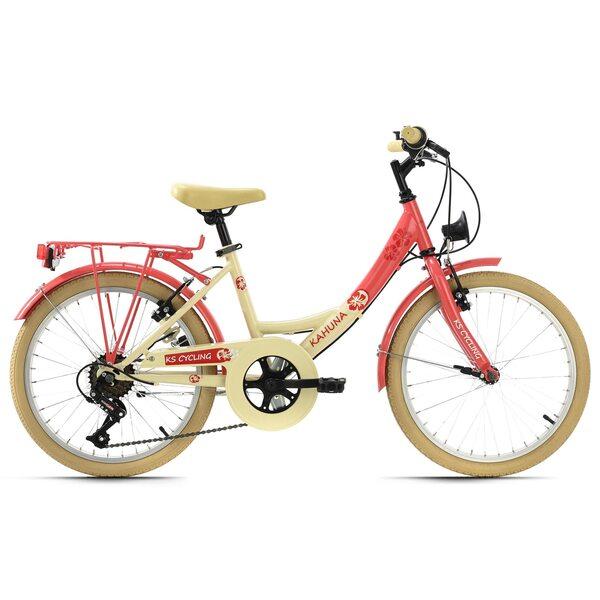 KS Cycling Kinderfahrrad 20'' Kahuna für Mädchen