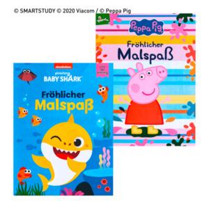 Mal- und Stickerbuch