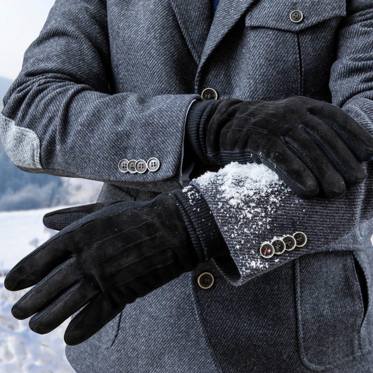 Bild 5 von ROYAL LIFE     Veloursleder-Handschuhe