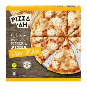 PIZZ'AH     Pizza Vier Käse
