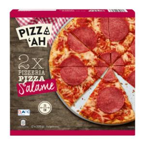 PIZZ'AH     Pizza Salame