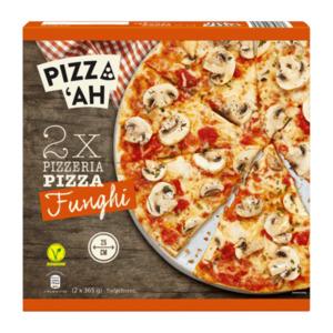 PIZZ'AH     Pizza Funghi