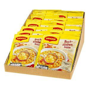 Maggi Guten Appetit Buchstabensuppe ergibt 1 L, 16er Pack