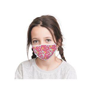 Mund-Nasen-Masken 2er-Set Kids Girl Power/Retro