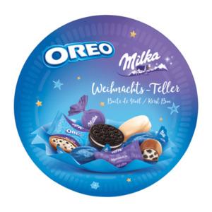Milka & Oreo Weihnachts-Teller