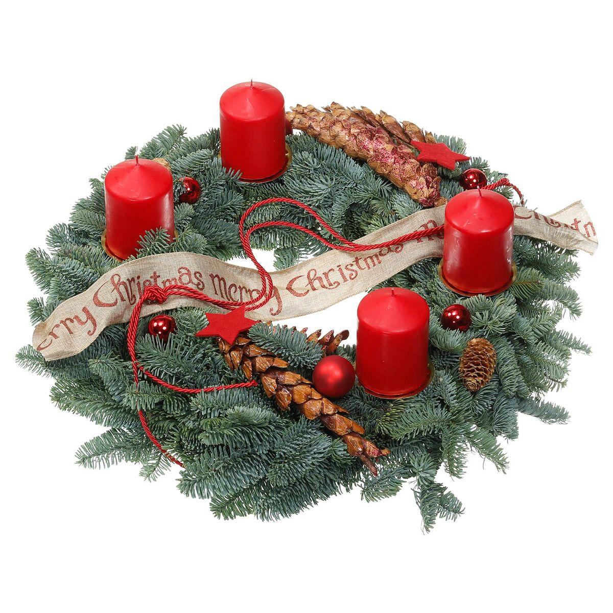 Bild 2 von GARDENLINE®  Adventskranz/-gesteck, groß
