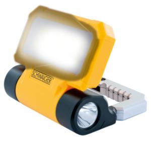 SCHWAIGER Arbeitsleuchte mit Taschenlampe
