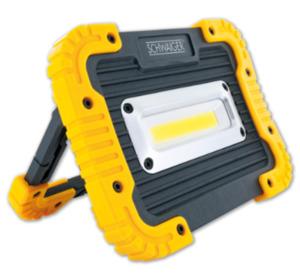 SCHWAIGER Baustrahler, batteriebetrieben