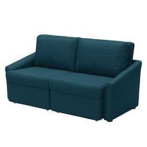 home24 Modoform Schlafsofa Rifton I Marineblau Webstoff 168x86x96 cm mit Schlaffunktion