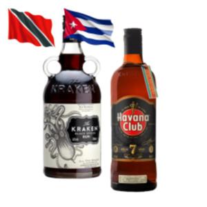 Havana Club 7 Jahre, Kraken Black Spiced Rum