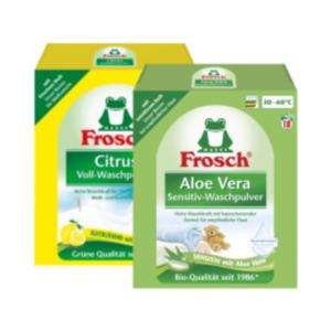 Frosch Waschmittel Flüssig oder Pulver