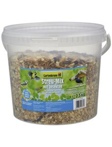 Vogelfutter »Streu-Mix«, 1 Eimer à 2500 g