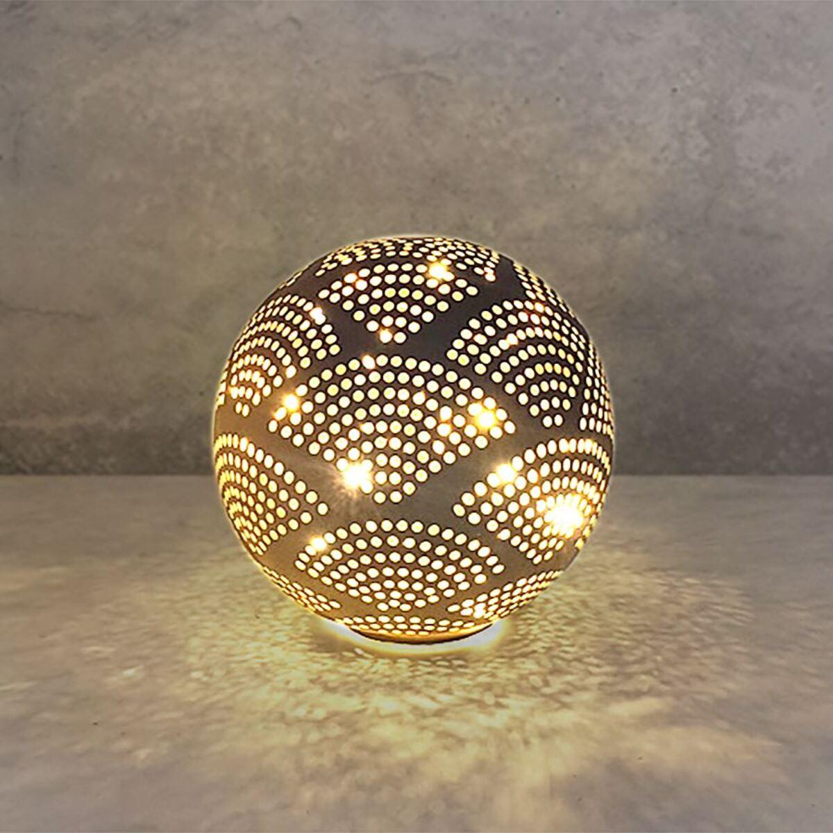Bild 1 von Deko-Glaskugel mit 10 LEDs Warmweiß