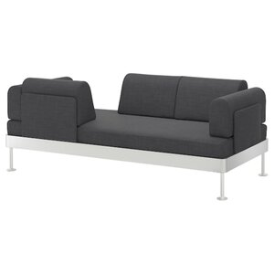 DELAKTIG 3er-Sofa, Hillared anthrazit