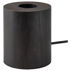 BLEKKLINT Tischleuchte, dunkelbraun Holz