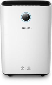 PHILIPS AC2729/11 2-in-1 Series 2000i Luftbefeuchter und Luftreiniger (Automatik, Allergene, leise, App, Bakterien, Viren)